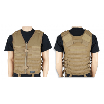 Tactical vest Barbaric, P-4 color coyote. Molle system