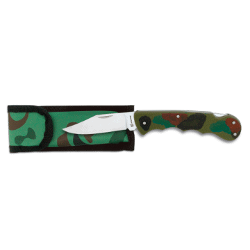 Tactical knife handle ABS 8 cm. Camo.