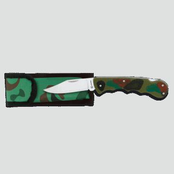 Taktisches Messer Griff ABS 8 cm. Camo.