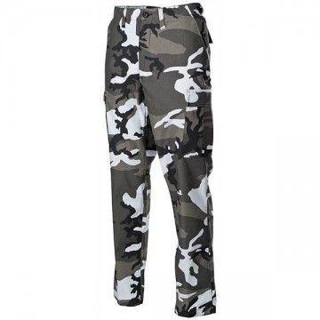 Pantalones militares M65, estilo Urban camo.