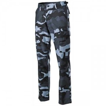 Pantalones militares M65, estilo camo Navy
