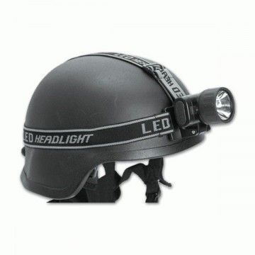 HEAD OF MIL-TEC 3 LED FLASHLIGHT + BULB.