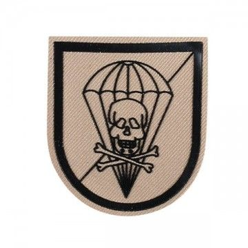 PATCH PARATROOPS BRIGADE DEFENSE AGAINST TRUCKS SKULL