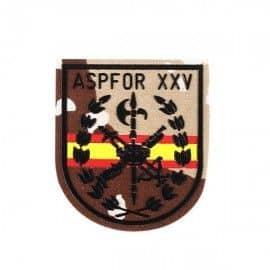 PARCHE LEGION ASPFOR XXV C/BANDERA ESPAÑA