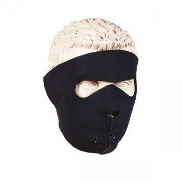 Máscara de neopreno de protección facial completa