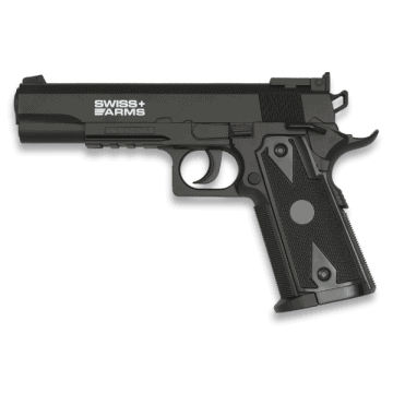 Pistola para Airsoft de CO2, modelo SWISS ARMS