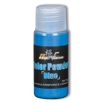 Pot of powder blue for airsoft mines. With a weight of 16 g.