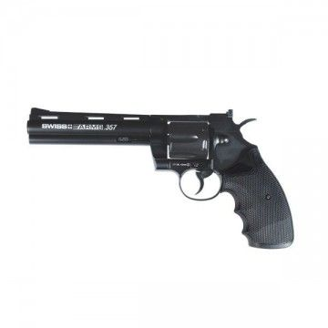 "Revolver de CO2, modelo SWISS ARMS 357 6"" FULL METAL"