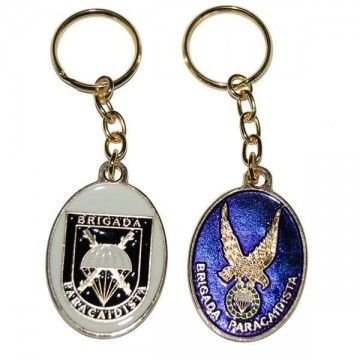 The paratrooper Brigade keychain