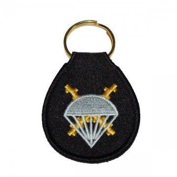 Paratroops Brigade felt keychain