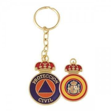 Llavero protección civil