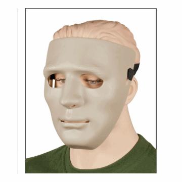 Airsoft II in PVC Maske hergestellt. Beige