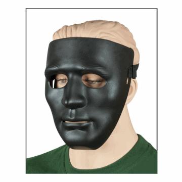Airsoft II in PVC Maske hergestellt. Schwarz