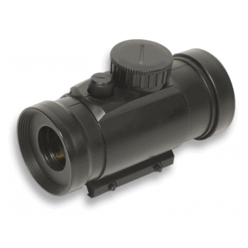 Targeted by red dot, 105 mm, the brand SWISS ARMS