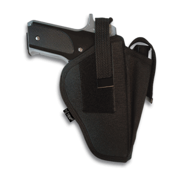 DINGO Holster with closing system by means of snap