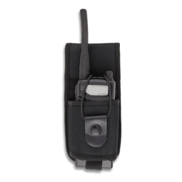 Walkie Talkie cover, made of padded Nylon. ASD