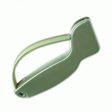Olive knife sharpener