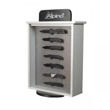 Expositor de cuchillería, marca ALPINO