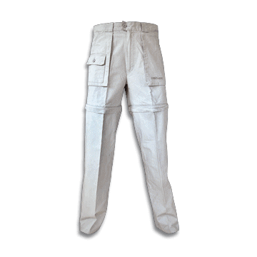 Pantalones de trekking, modelo Masai, de la marca Barbaric. Beige