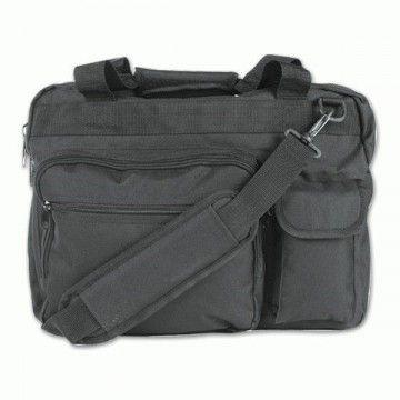 Aktenkoffer / Mehrzweck Transport Tasche. Schwarz