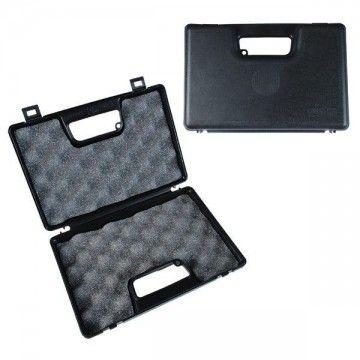 Padded case for pistol black.