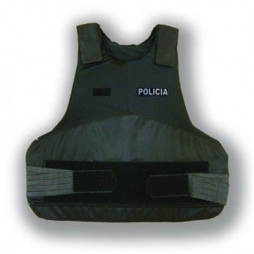 Bulletproof style Knightex Black vest for woman. Rabintex