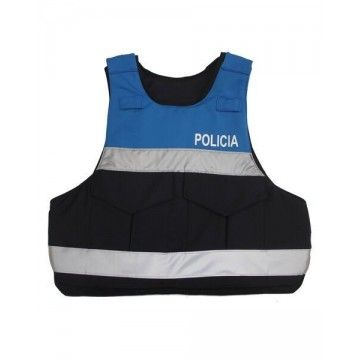 Bulletproof style Knightex Blue vest for woman. Rabintex