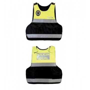 Bulletproof vest style Guardtex mens yellow. Rabintex
