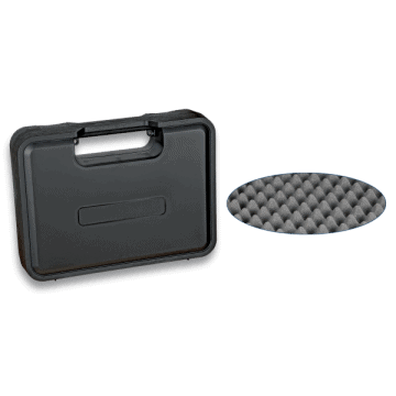 24.5 x 17.8 x 3.9 cm weapons carrying case