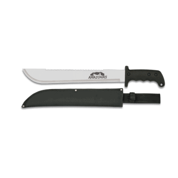 The Albainox mark of 46 cm machete knife.