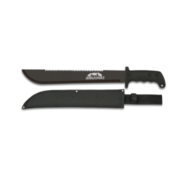 The Albainox mark of 56 cm machete knife.