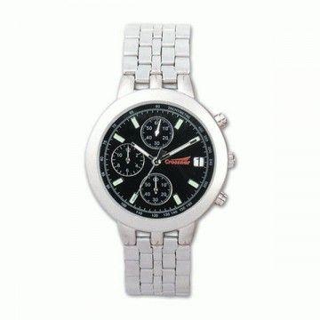 Reloj analógico de la marca Crossnar. Black