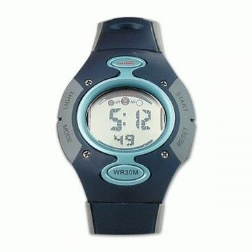 Reloj digital de la marca Crossnar. Grey-blue