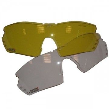 Crystals of replacement for Swiss Arms protection goggles