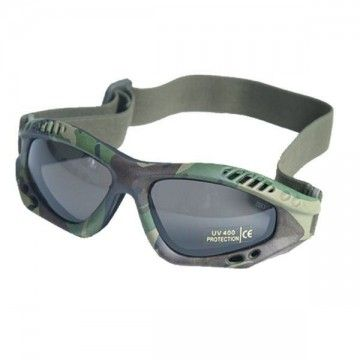 Color camo tape safety glasses.