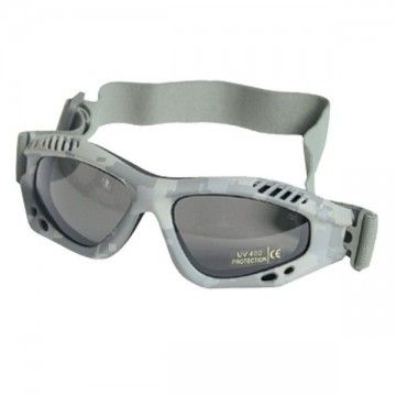 Color ACU tape safety glasses.
