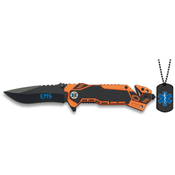Security tactical knife, model EMS (Emergency medical services)