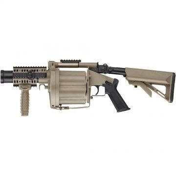 Grenade launcher model ICS/ICS-191 MGL DS. Airsoft