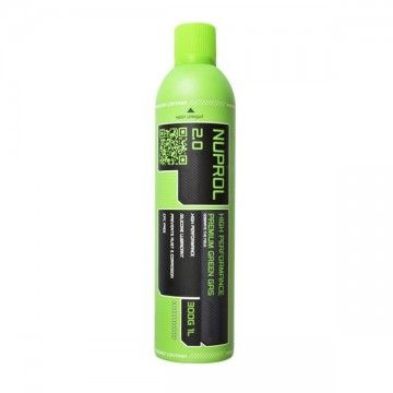 NUPROL 2.0 gas bottle Premium Green 1000ML (300G)