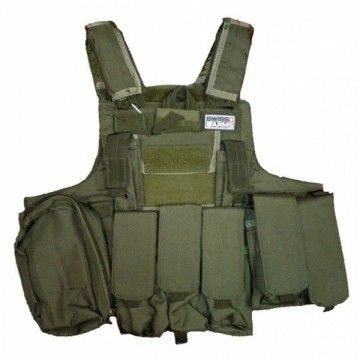 Chaleco táctico Swiss Arms, modelo Ciras. Khaki