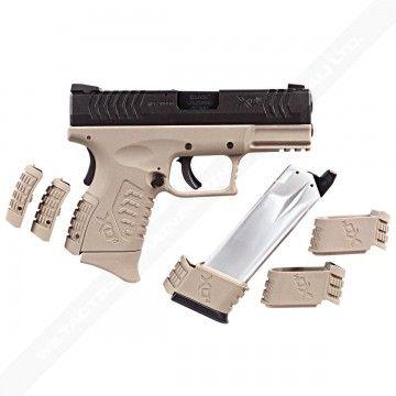 Pistola de Gas Blow Back Ultra Combat 3.8 Black & Tan