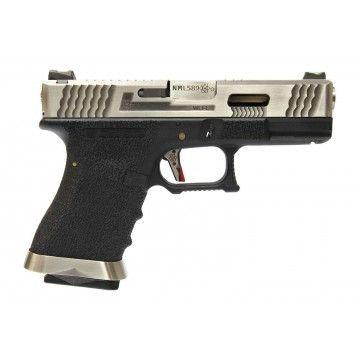 Pistola de Gas Blow Back G17 T7-SV SLIDE WE