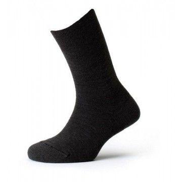 Calcetín técnico de algodón negro