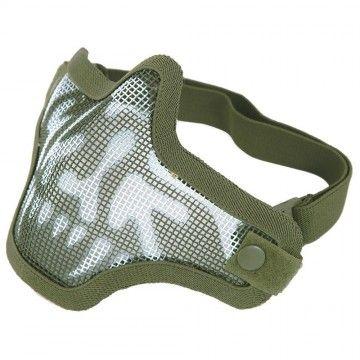 Máscara facial Stalker Skull green de Dragonpro