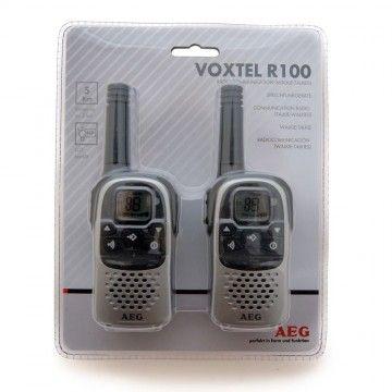 Walkie Talkie VOXTEL R100 PMR de AEG 446 MHZ