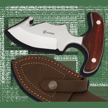 Sportliche Messer Albainox 12 cm, mit Griff rot Ausdauer