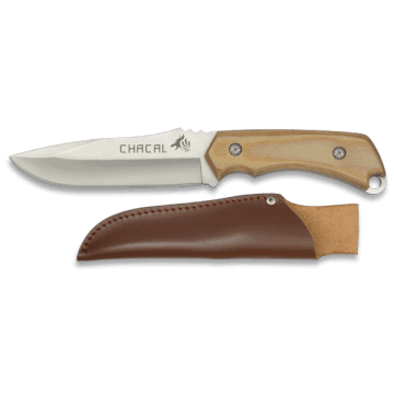 JACKAL sporting knife 24 cm with wooden handle