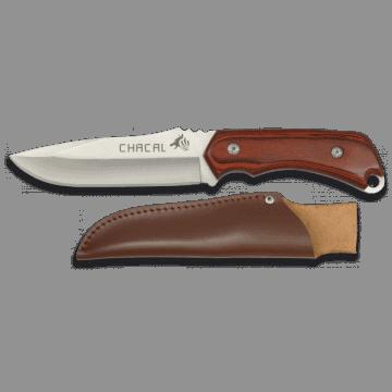 Cuchillo deportivo CHACAL de 24 cm, con mango de stamina
