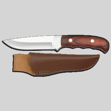 Sportliche Messer Albainox von 22 cm, mit Micarta Griff
