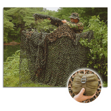Red de camuflaje 3X1.40 m woodland de Camosystem